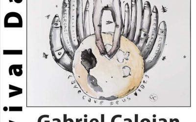 "Expoziția  – ""Survival Dance""–  Gabriel Caloian"
