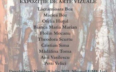 """Expoziție de artă vizuală – """"Grupa 10"""""""