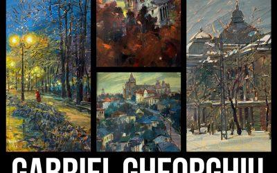 """Expoziție de pictură """"Pur și simplu…..Iași"""" – Gabriel Gheorghiu"""