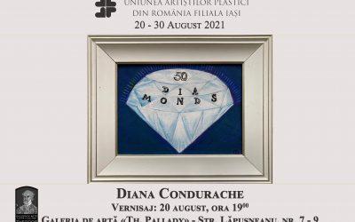"""Expoziția """"50 DIA MONDS"""" – Diana Condurache"""