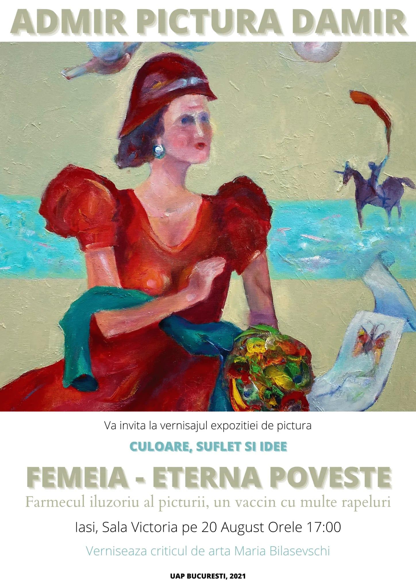 Expoziție de pictură - ADMIR PICTURA DAMIR