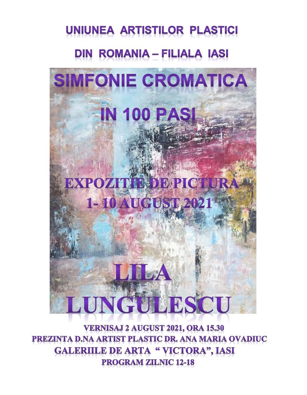Simfonie Cromatică în 100 Pași - Lila Lungulescu