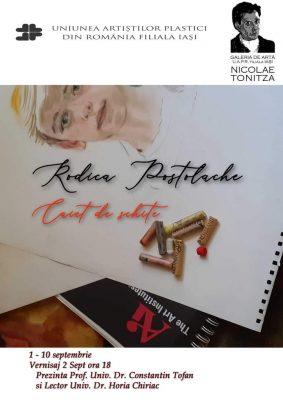 Expoziția Caiet de schițe - Rodica Postolache