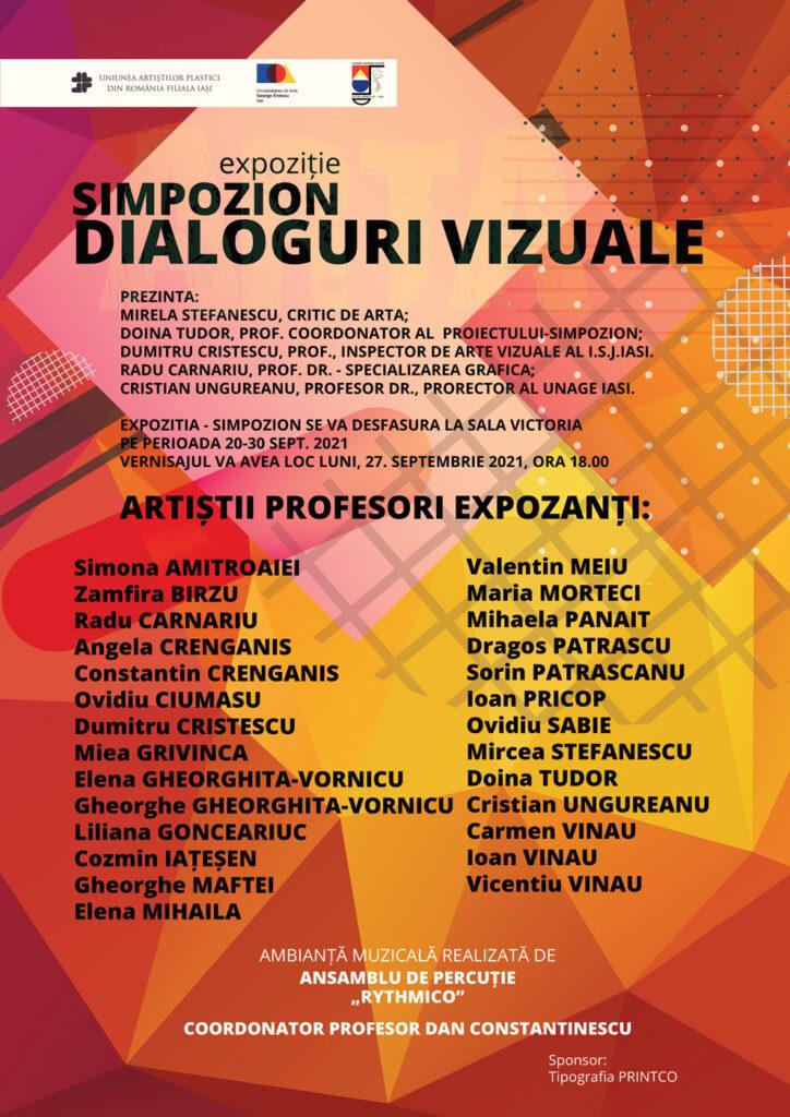 Expoziție SIMPOZION DIALOGURI VIZUALE