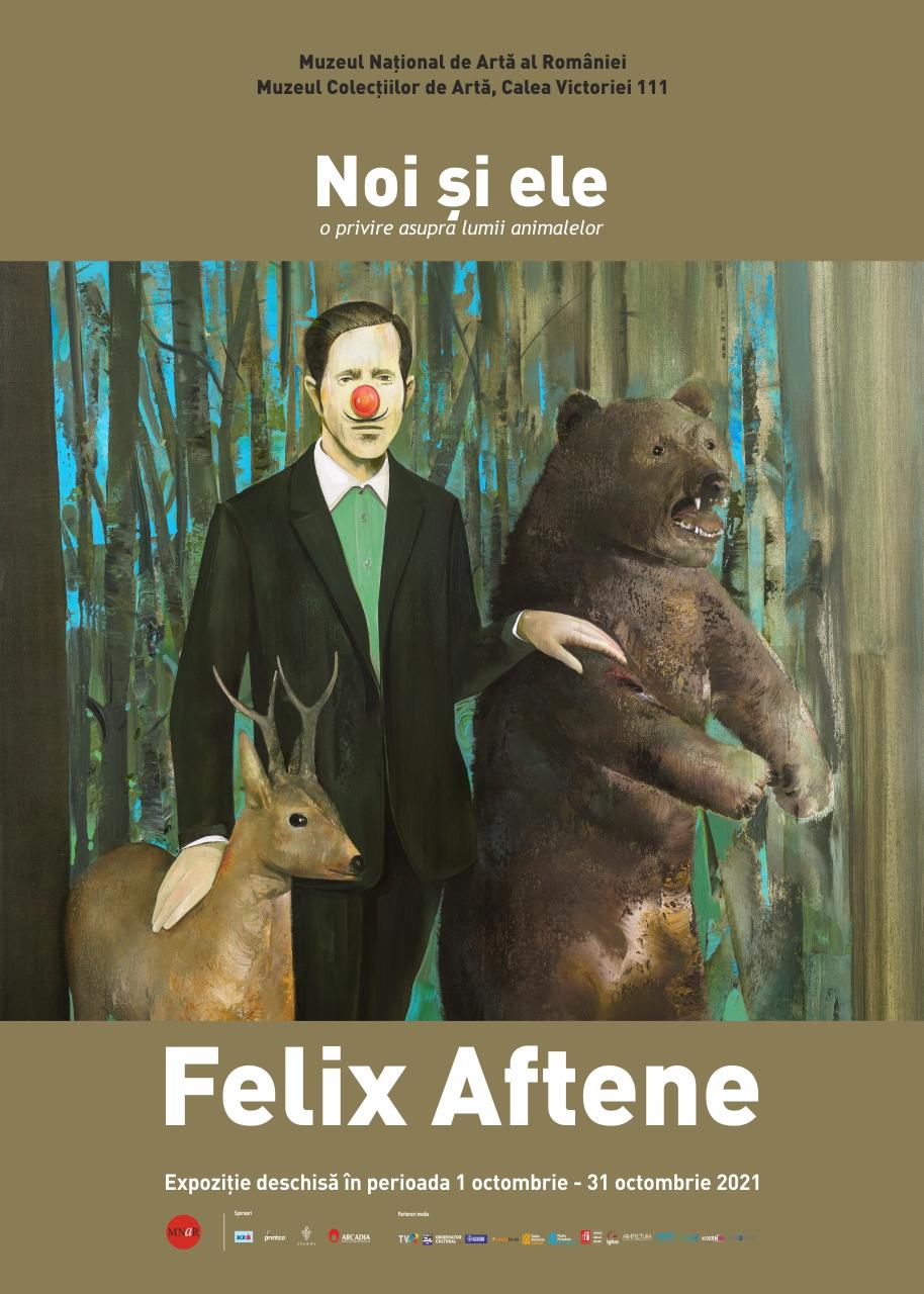 """Expoziția """"Noi și ele – o privire asupra lumii animalelor"""" – Felix Aftene"""