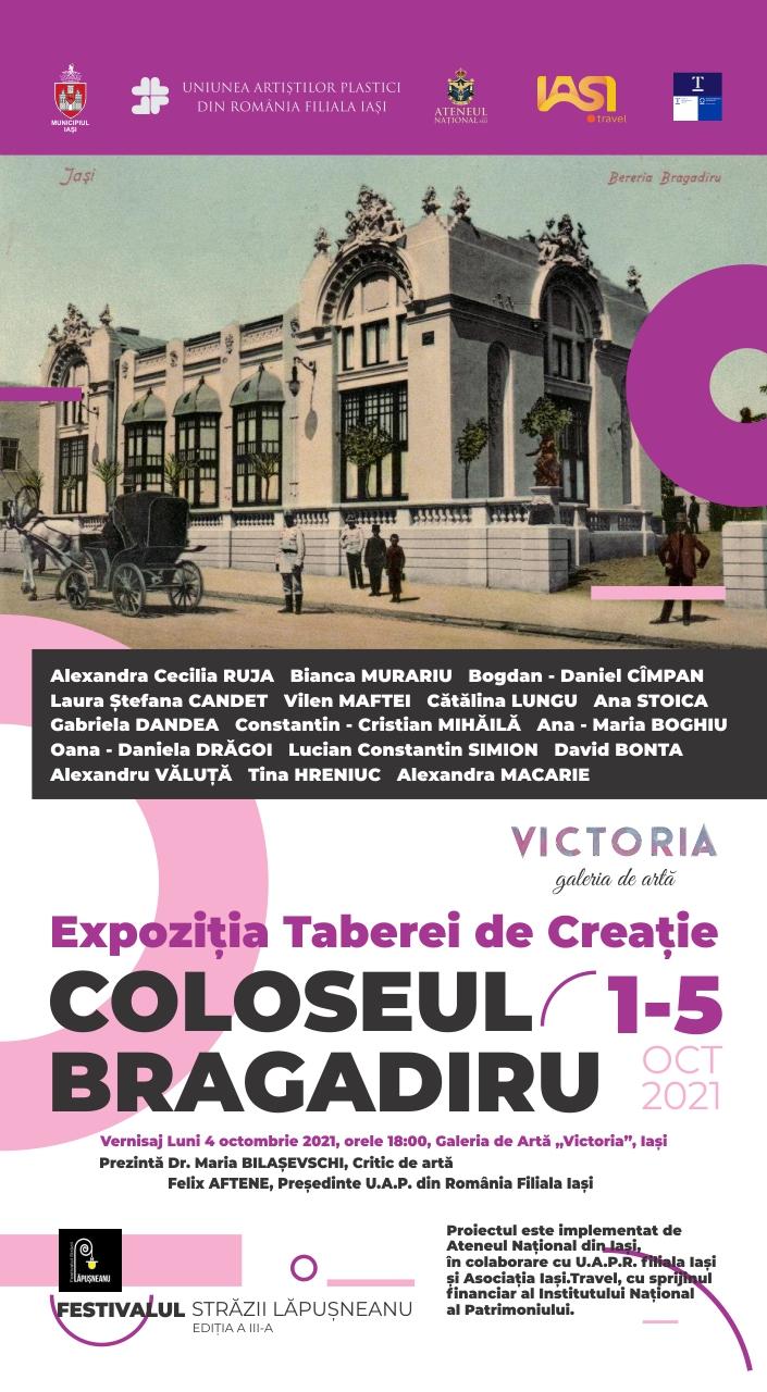 """Expoziția Taberei de Creație """"Coloseul Bragadiru"""""""