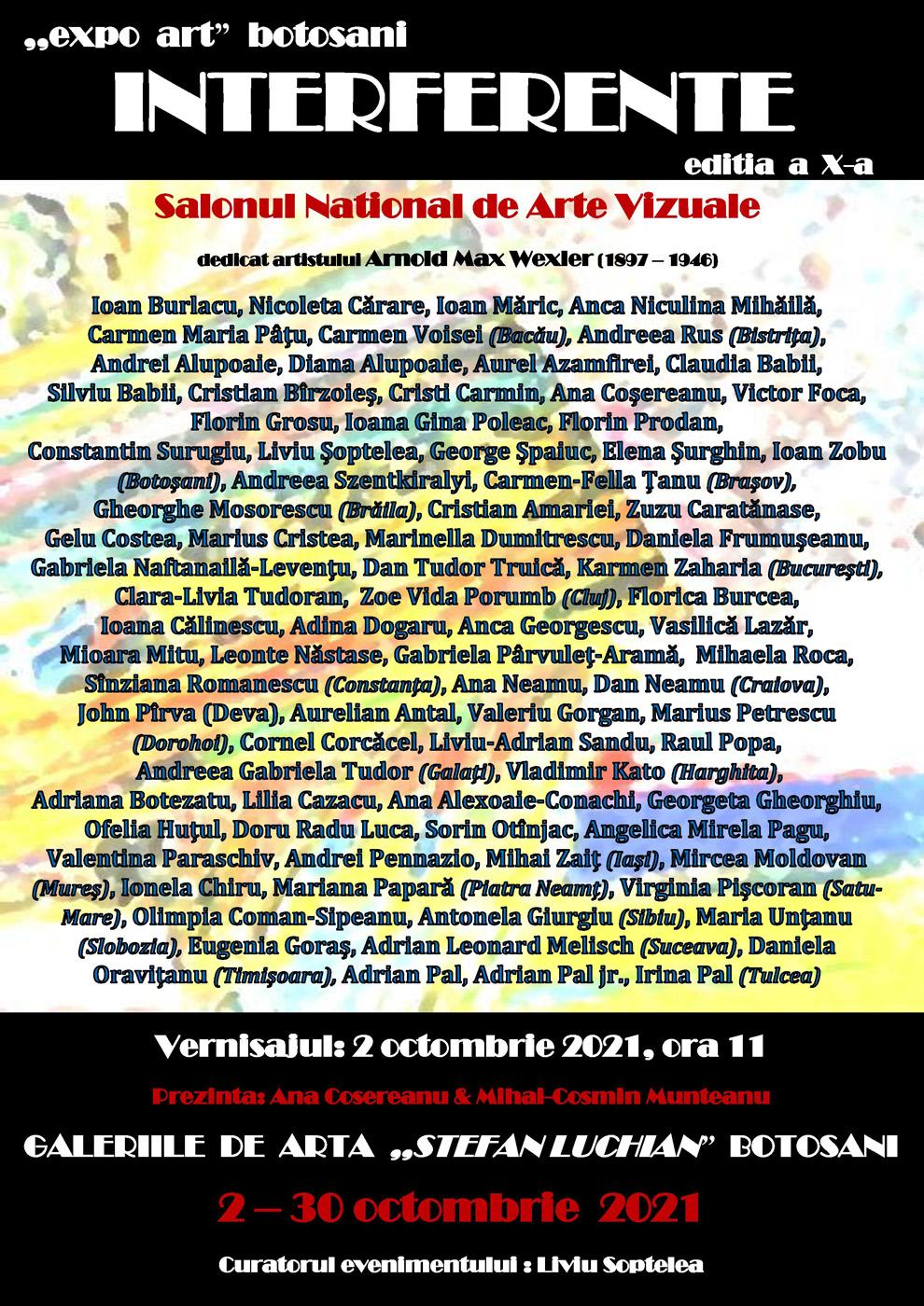 Salonul Național de Arte Vizuale INTERFERENȚE